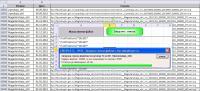 Скриншот программы загрузки списка файлов с FTP сервера ftp.zakupki.gov.ru